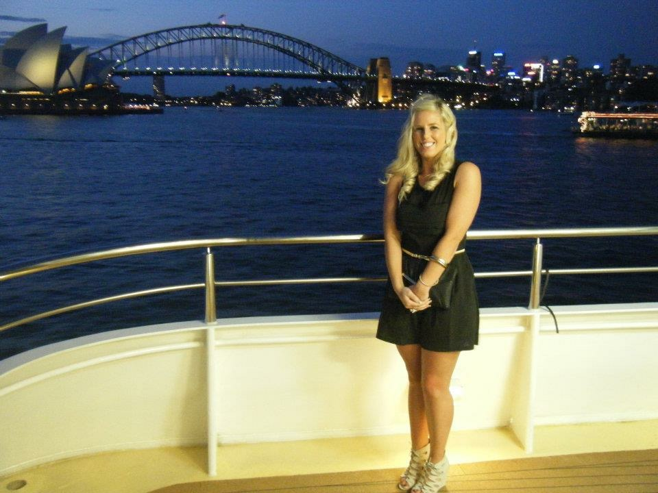 Sinead in December in Sydney